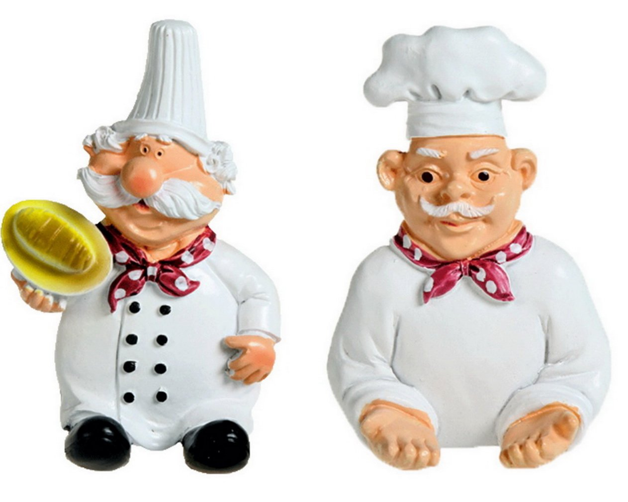 COMVIP Ganchos Fuerte palillo de la Historieta Chef Cable de alimentaci/ón del Enchufe de Vivienda Percha B 11 7cm B Blanco