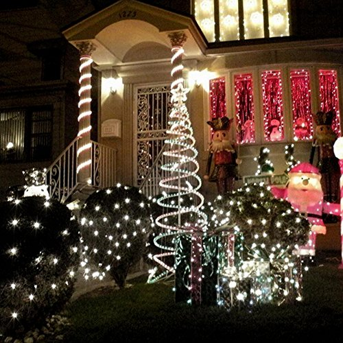 33ft-100-LED-Solar-Powered-String-Lights-Festival-Decorative-Lights-Waterproof-Rope-Garden-Light-for-Wedding-Parties-Outdoor-Twinkle-Lights-MaiTian-warm