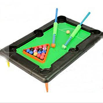 YOYOSTORE Mini Travel Billiard Ball Table Game Pool Toy Set Children Kids  Christmas Gift