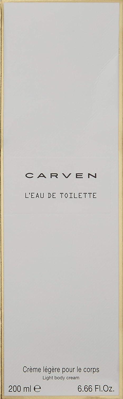 Carven L eau De Toilette Light Body Cream, 6.66 Fl Oz