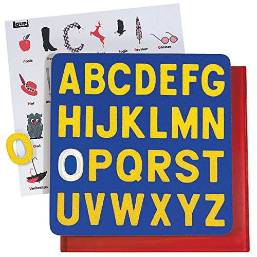 Lauri Crepe Rubber Puzzles - A to Z Uppercase