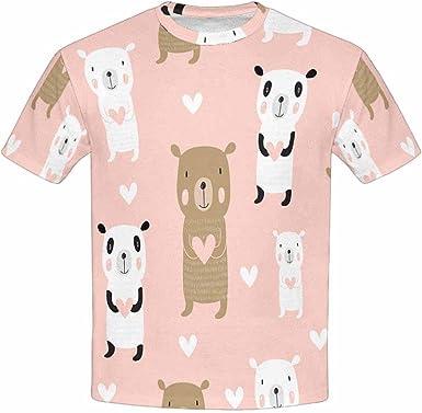 XS-XL INTERESTPRINT Cute Head of Little Piggy Childs T-Shirt
