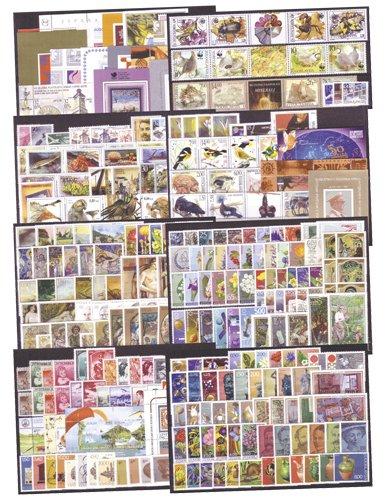 Goldhahn Jugoslawien postfrische Kollektion Briefmarken für Sammler