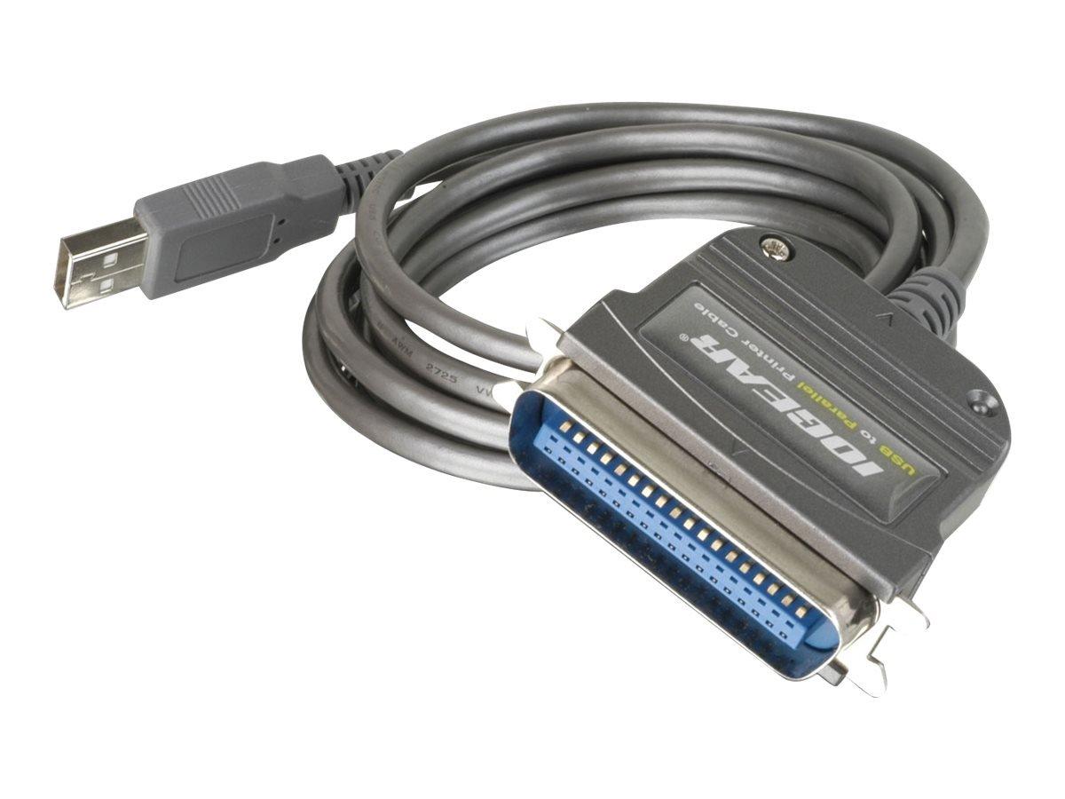 IOGEAR USB - Parallel Adapter IEEE-1284 - Adaptador para ...
