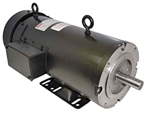 Dayton 2M167 DC Motor, PM, TEFC, 1/4 hp, 1750 RPM, 90VDC, Degrees_Fahrenheit, to Volts, Amps, (