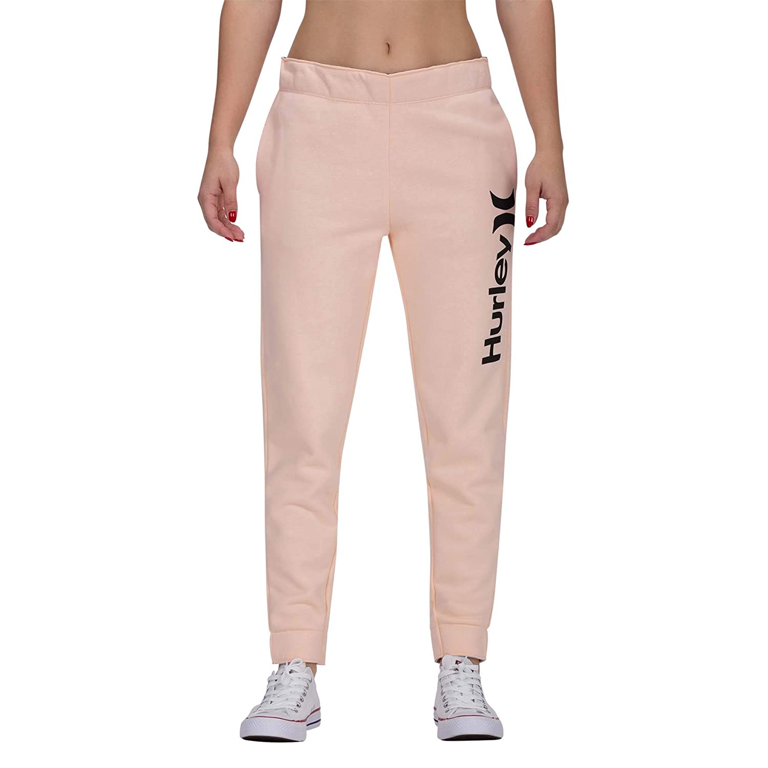 Hurley W One/&Only Fleece Jogger Pantalones Chandal Mujer