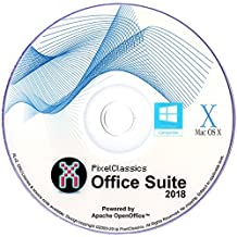 Office Suite 2018 Word & Excel 2016 2013 2010 365 Compatible Software Powered by Apache OpenOfficeTM - No Yearly Subscription!