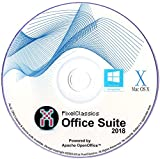 Office Suite 2018 Microsoft Word 2016 2013 2010 2007 365 Compatible Software CD Powered by Apache OpenOfficeTM for PC Windows 10 8.1 8 7 Vista XP 32 64 Bit & Mac OS X - No Yearly Subscription!