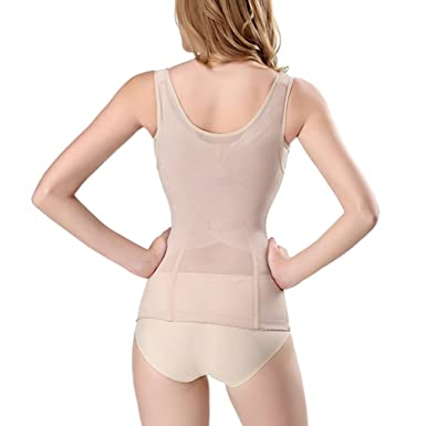 a48f82c650 Zarbrina Women Full Body Shaper Waist Trainer Cincher Corset Shapewear  Bodysuit Tummy Underwear for Control