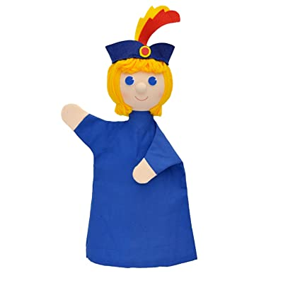 ABA 28cm Prince vendelin Marionnette à Main (Multicolore)