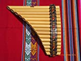 Professional Pan Flute Tunable 15 Pipes From Peru Case Included Item in USA