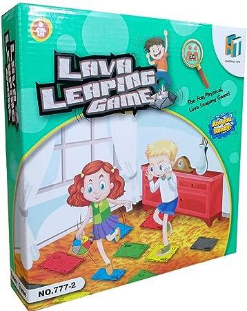 Feunet The Floor Is Lava Volcano Juego de Cartas Spin para niños Solitario Juego de Mesa Familiar 26.5 7 26.5cm / 10.5inch 2.8inch 10.5inch: Amazon.es: Hogar