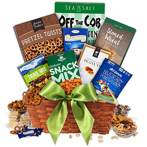 Healthy Gift Basket Classic by GourmetGiftBaskets.com