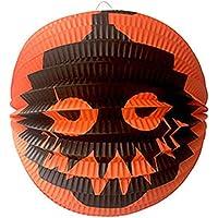 Kullan At Market KM-SUS-1124 Halloween Turuncu Bal Kabağı Baskılı Top Fener