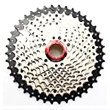 10 Speed Cassette 11-42T MTB Cassette 10 Speed Fit for Mountain Bike, Road Bicycle, MTB, BMX, SRAM, Shimano