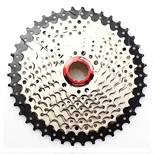 10 Speed Cassette 11-42T MTB Cassette 10 Speed Fit for Mountain Bike, Road Bicycle, MTB, BMX, SRAM, Shimano ()