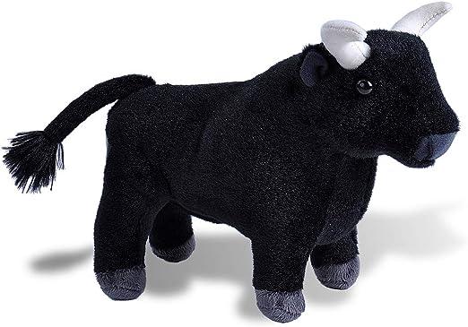 Wild Republic Spanish Bull, Toro espganol, Peluche, Cuddlekins Mini, 20cm, Color negro 20409 , color/modelo surtido: Amazon.es: Juguetes y juegos