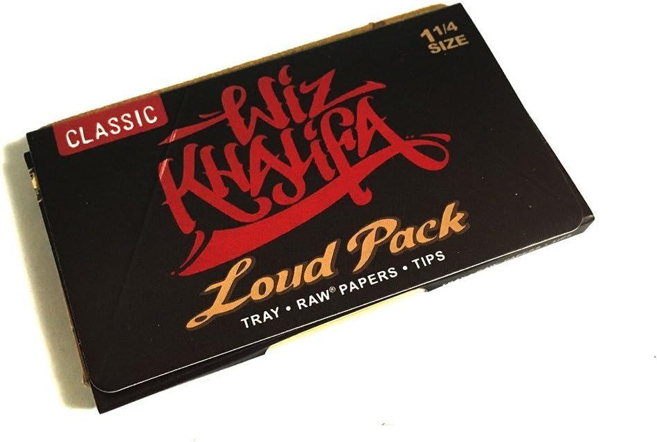 Raw Classic Artesano Wiz Khalifa Loud Pack 1 1/4 tamaño de liar ...
