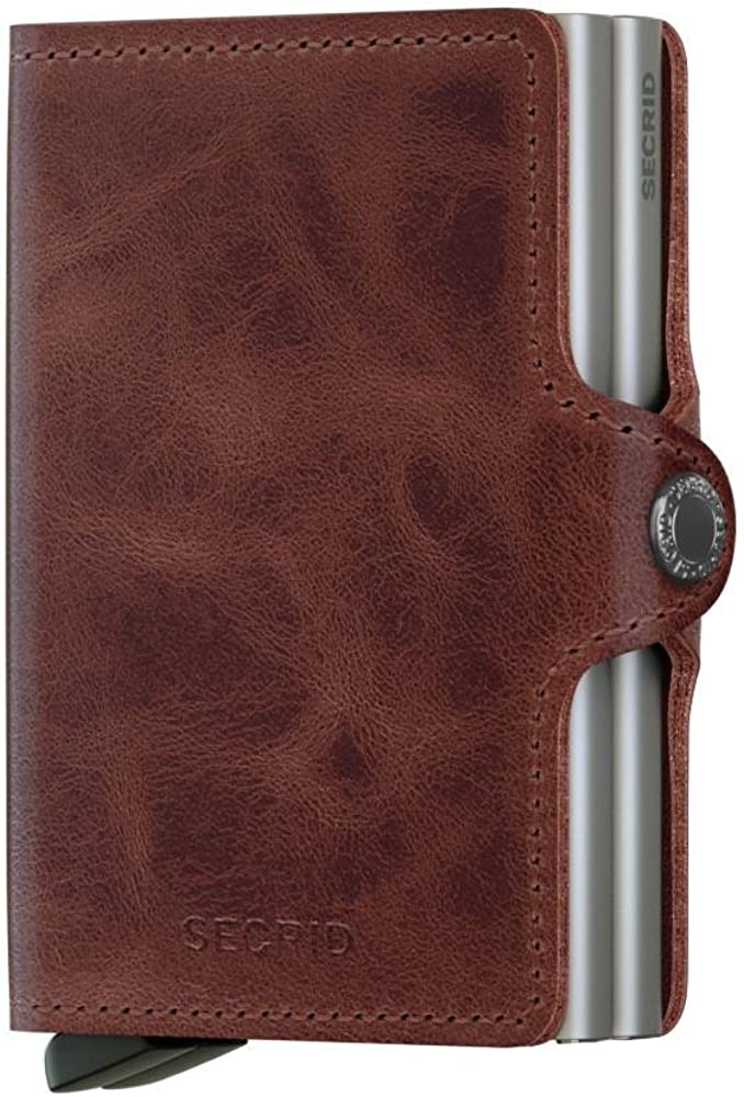 Secrid Twin wallet leather, Credit Card Wallet/with RFID protection