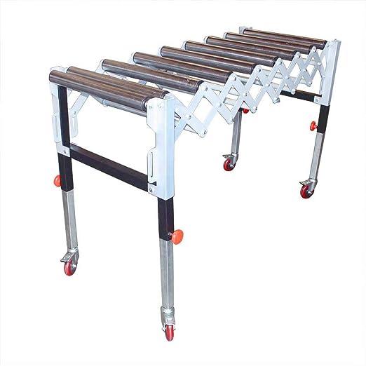 Oasis maquinaria t1732 ajustable ampliable gravedad rueda transportadora Flexible mesa: Amazon.es: Bricolaje y herramientas