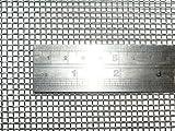 Woven Wire 8 Mesh 12''X24'' 30cm X60cm x2.5mm Beekeeping Varoa/Varroa Apiary Steel 60% Open Area