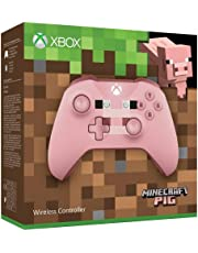 Microsoft - Mando Inalámbrico: Edición Limitada Minecraft Pig (Xbox One)