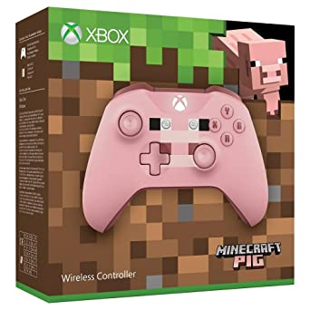 Xbox Wireless Controller Minecraft Pink Limited Edition Xbox One - Minecraft mit joystick spielen