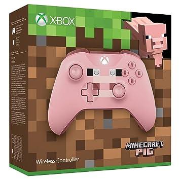 Amazon Com Microsoft Xbox One Pc Controller Wireless Minecraft Pig