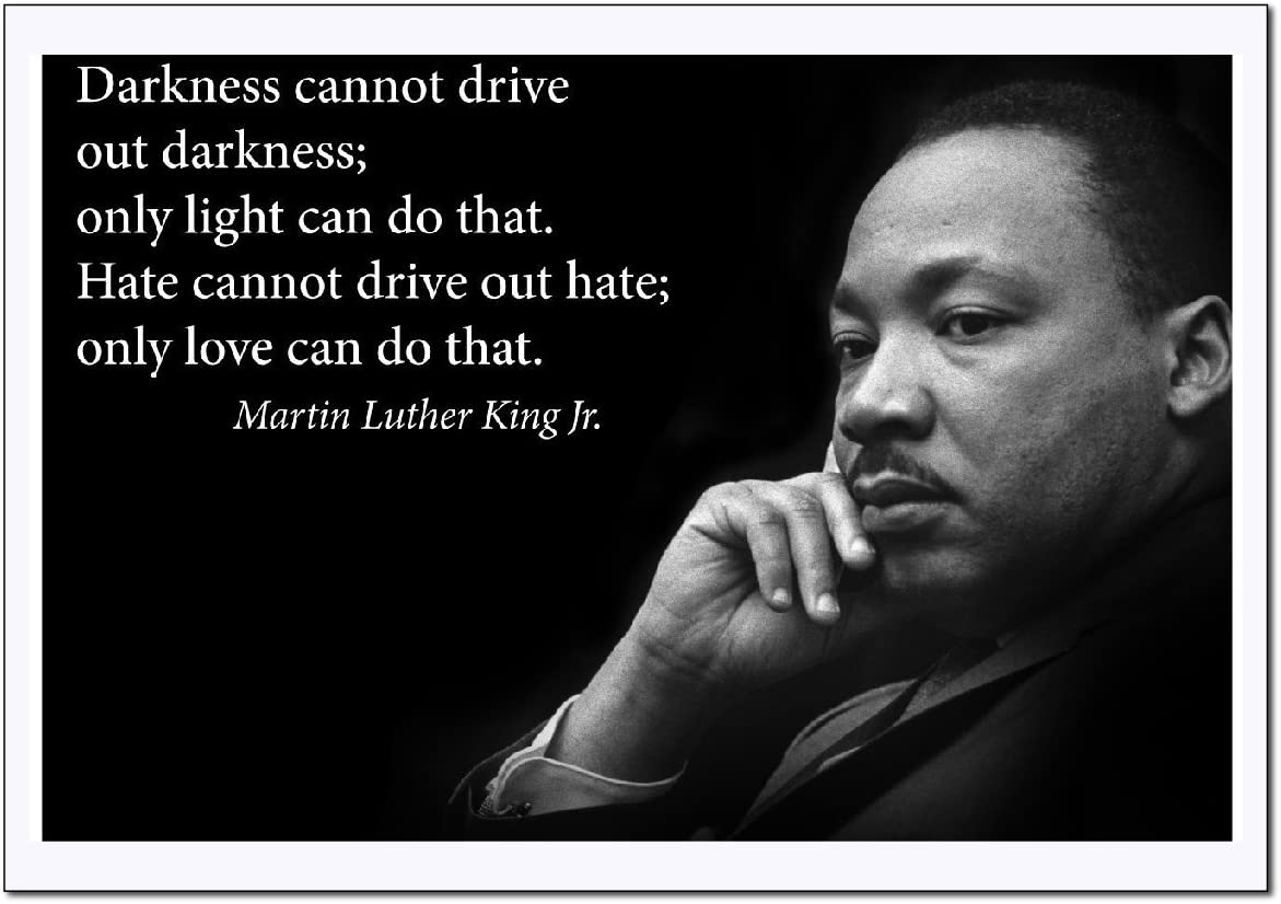 Martin Luther King Jr. Poster inspirational quote ...