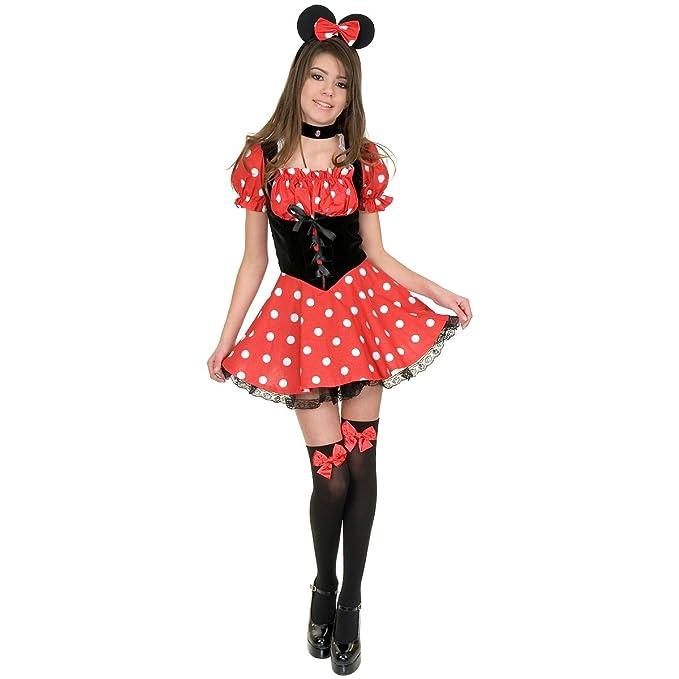 Little Miss Mouse Teen/Junior Costume - Teen Small  sc 1 st  Amazon.com & Amazon.com: Little Miss Mouse Girls Costume: Toys u0026 Games