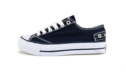 AG559 CARRERA JEANS  zapatos azul lona mujer sneakers EU 35