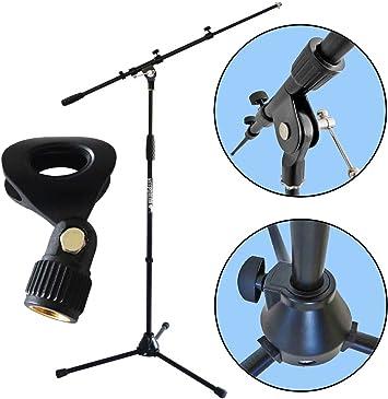 Mikrofonklammer keepdrum MS032 Mikrofon-Tischstativ Ständer