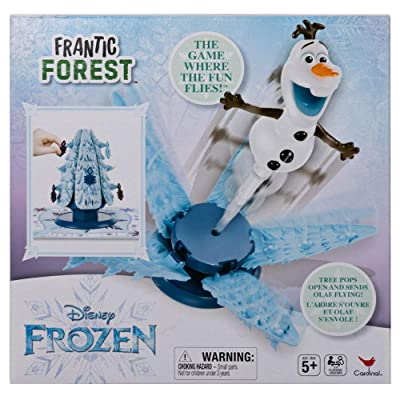 Cardinal Disney Frozen Frantic Forest Board Game: Toys & Games
