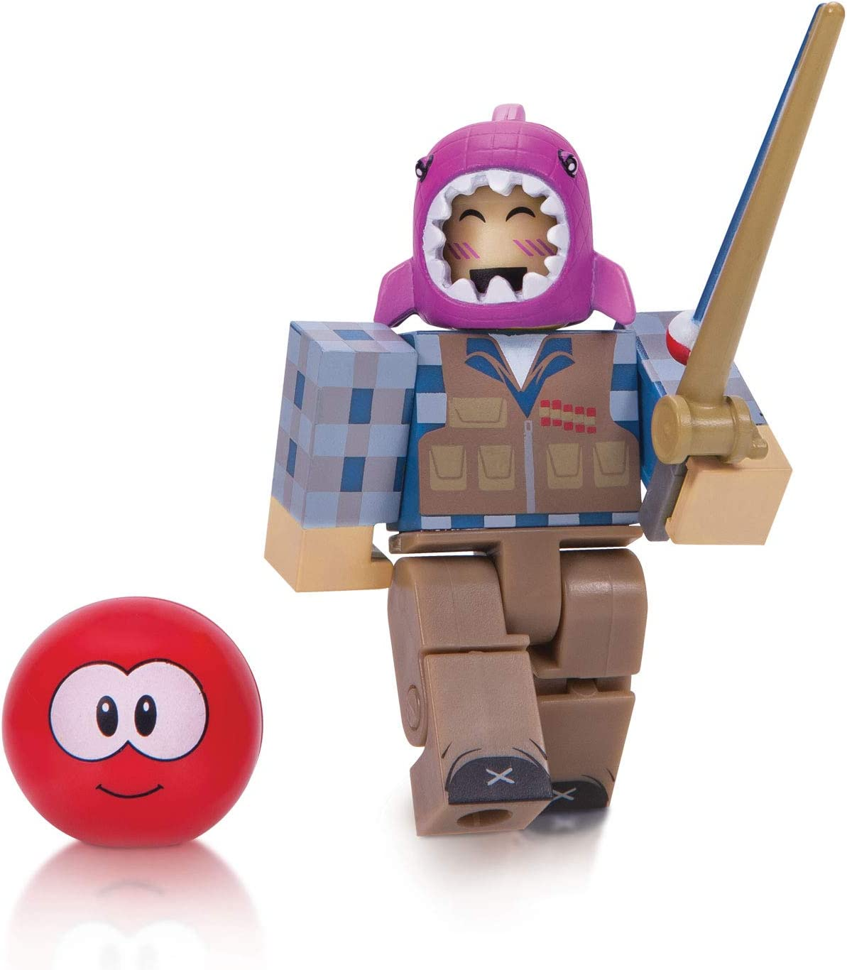 Amazon Com Roblox Action Collection Meepcity Fisherman Figure