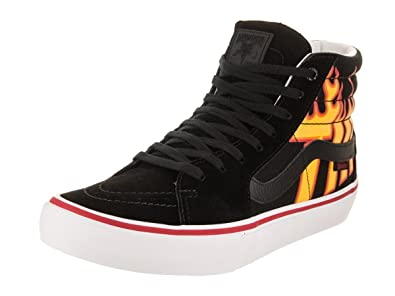 99ee183a41 Vans x Thrasher Sk8-Hi Pro (Thrasher Black) Mens Skate Shoes-12
