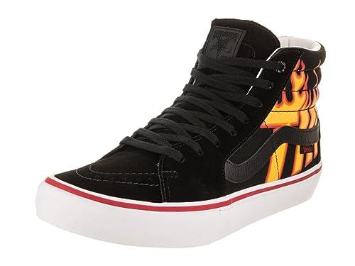 Vans x Thrasher Sk8-Hi Pro (Thrasher Black) Mens Skate Shoes-12 f0d0a0c908