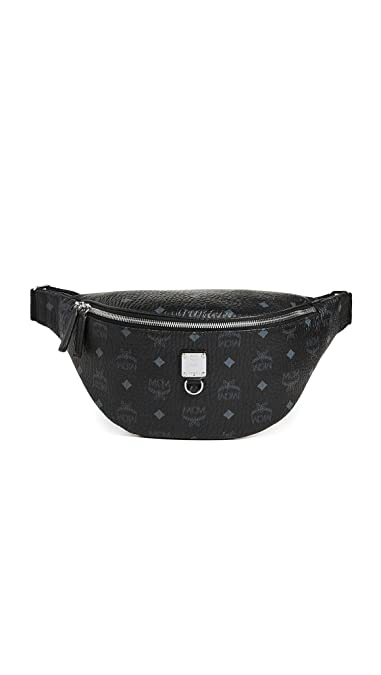 001e45c7539c43 Amazon.com  MCM Men s Fursten Visetos Medium Belt Bag