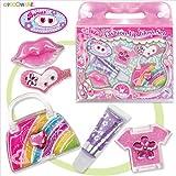Girls Lip Glosses, Child Makeup Kits - Lip glosses and Hair Pretties set! GREAT GIFT