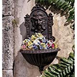 Design Toscano SP1285 Greenman Sculptural Garden Wall Font