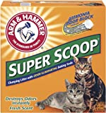 Arm and Hammer Super Scoop Clumping Litter, Fresh Scent, 14-Pounds, My Pet Supplies