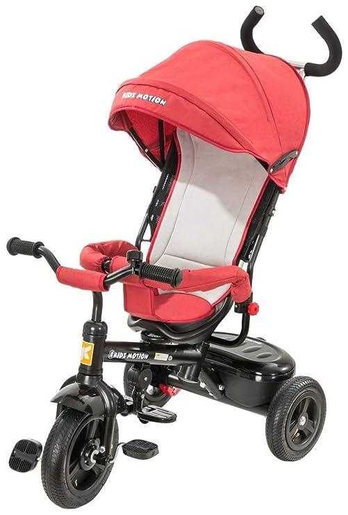 Kidz Motion Niños Tobi Alex Carrito Triciclo Rojo: Amazon.es: Bebé