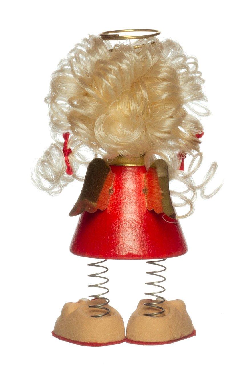zum Hinstellen Preis für 1 Engel Autofahrerschutzengel Charly mit Spiralbeinen