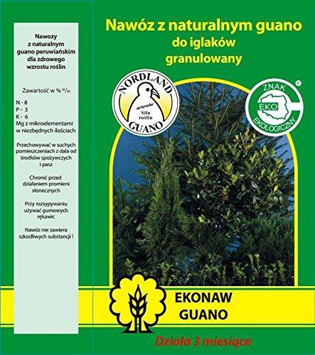 Ekonaw EKONAW_193_W - Abono con base de guano para coníferas EKONAW (3kg): Amazon.es: Bricolaje y herramientas