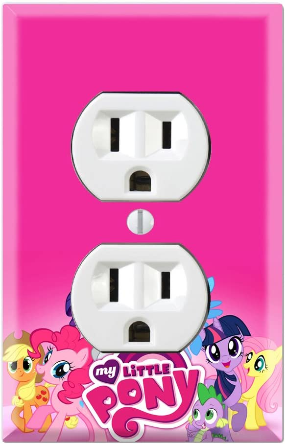 Duplex Wall Outlet Plate Decor Wallplate - My Little Pony Friendship is Magic