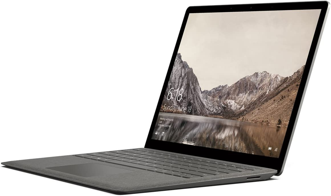 Microsoft Surface Laptop (Intel Core i7, 16GB RAM, 512GB) - Graphite Gold (Renewed)