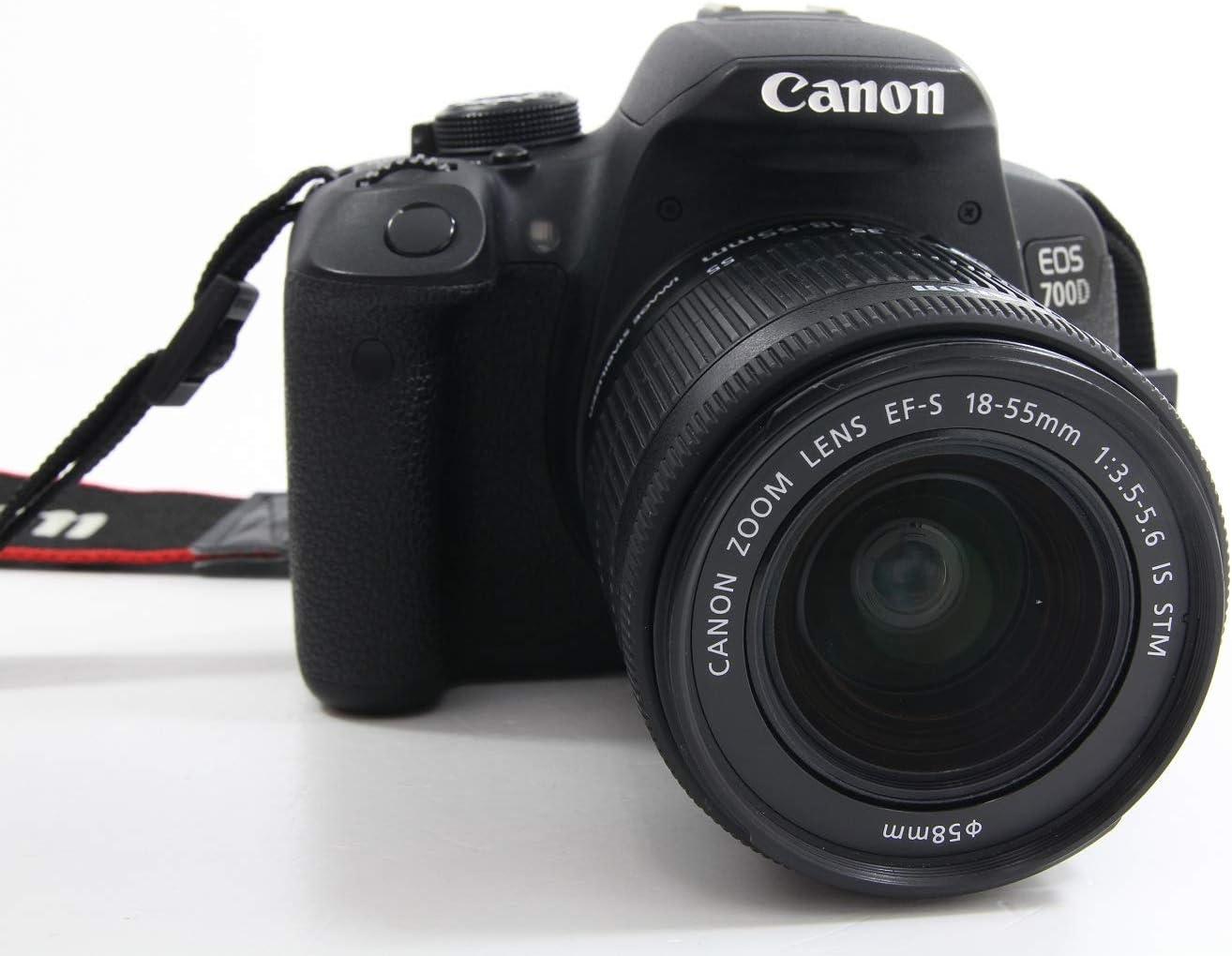 Cámara réflex Canon EOS 700D Kit con objetivo 18 – 55 mm DC III ...