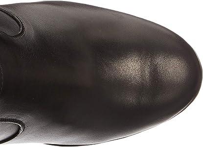 Geox D Inspiration Wedge B, Bottes Femme, Noir (Black), 36
