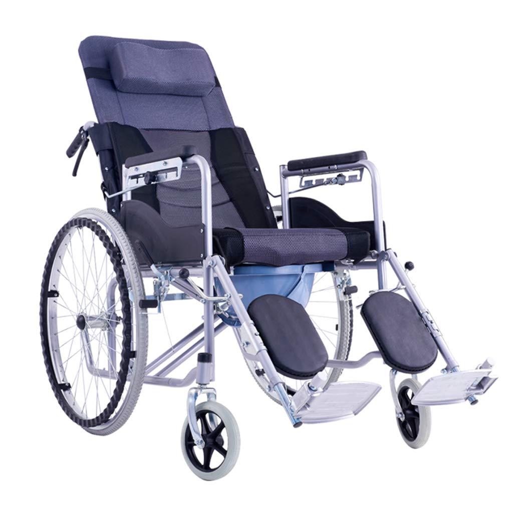 熱販売 HSBAIS 輸送車椅子 B07NM7D8B6 Gray、折りたたみ式軽量ポータブル昇降用レッグレスト、24インチ後輪、滑らかなライド,Gray HSBAIS Gray B07NM7D8B6, 細川作業服:0bb1a7fc --- a0267596.xsph.ru