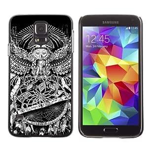 Designer Depo Hard Protection Case for Samsung Galaxy S5 / Owl Eye