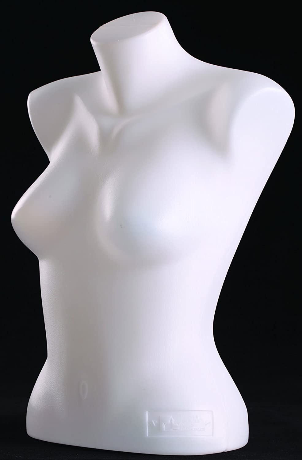 Female Torso Mannequin Form Display Bust White Color (#5010) Only Mannequins®